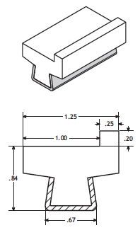 3/8' Cable Guide