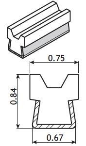 'A' & 'B' V-Belt Guide