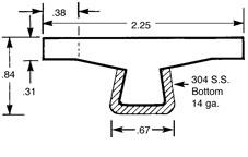 Guide Rail GRA2.25TTOP