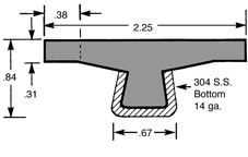 Guide Rail GRA2.25TTOPPLUS
