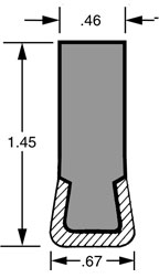 Guide Rail GRA60ECTVPR