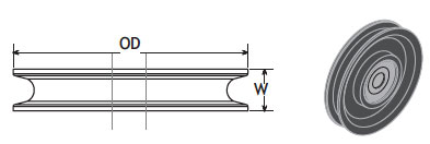 Cable Idler Pulley