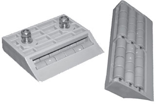Pobco Plastics Modular Transfer Plates With Rollers