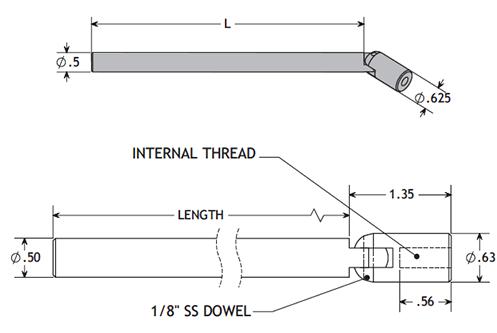 Pivot End Adjusting Rod Mechanicals